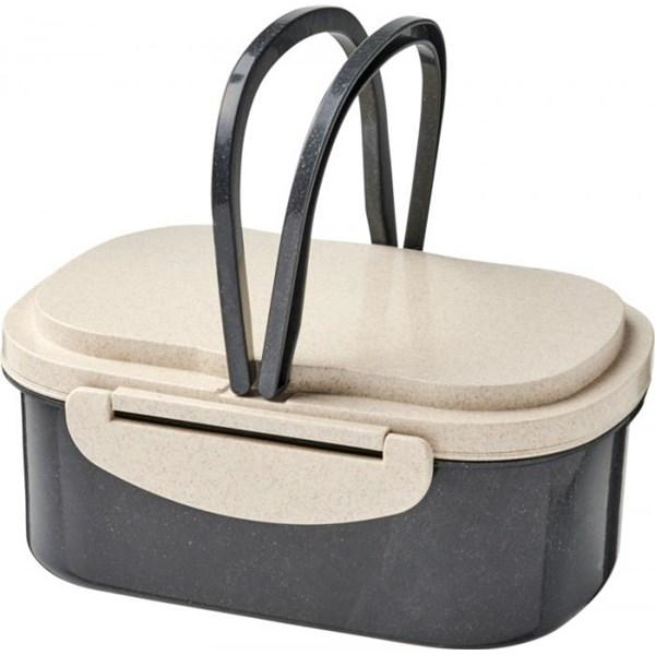 lunch box personnalisable en fibre de paille de blé