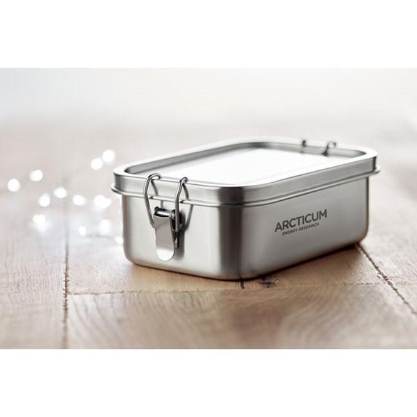 lunch box publicitaire acier inoxydable