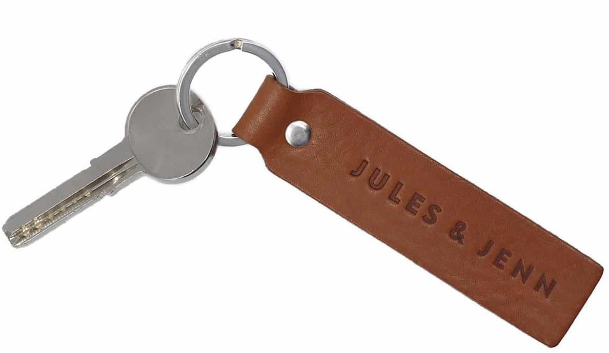 Porte-clé-cuir