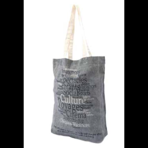 Tote bag tissu recyclé